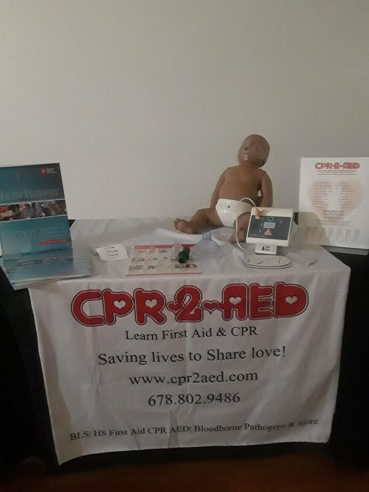 BLS First Aid CPR AED Bloodborne Pathogen Courses Weekly