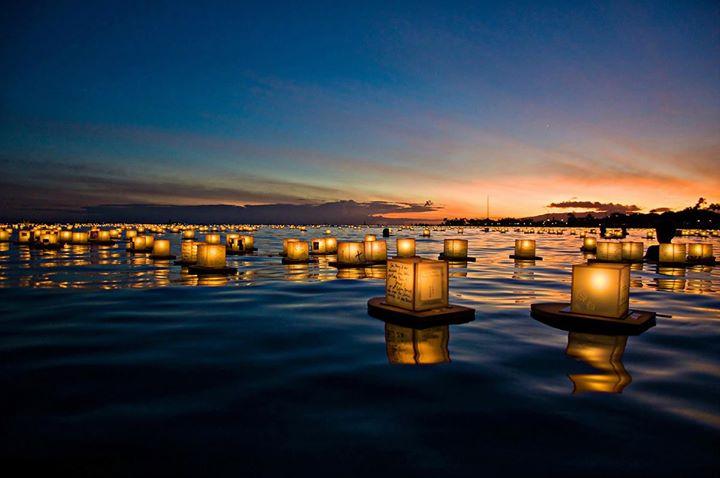 Las Vegas - Water Lantern Festival