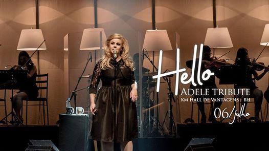 Hello Adele Tribute no Km de Vantagens Hall  BH - 0607