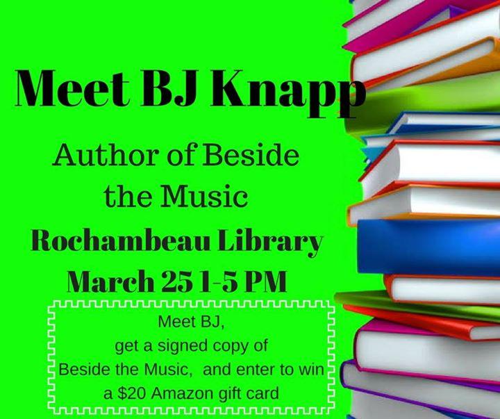 Meet BJ Knapp-Author of Beside the Music