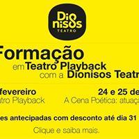 Formao em Teatro Playback com a Dionisos Teatro