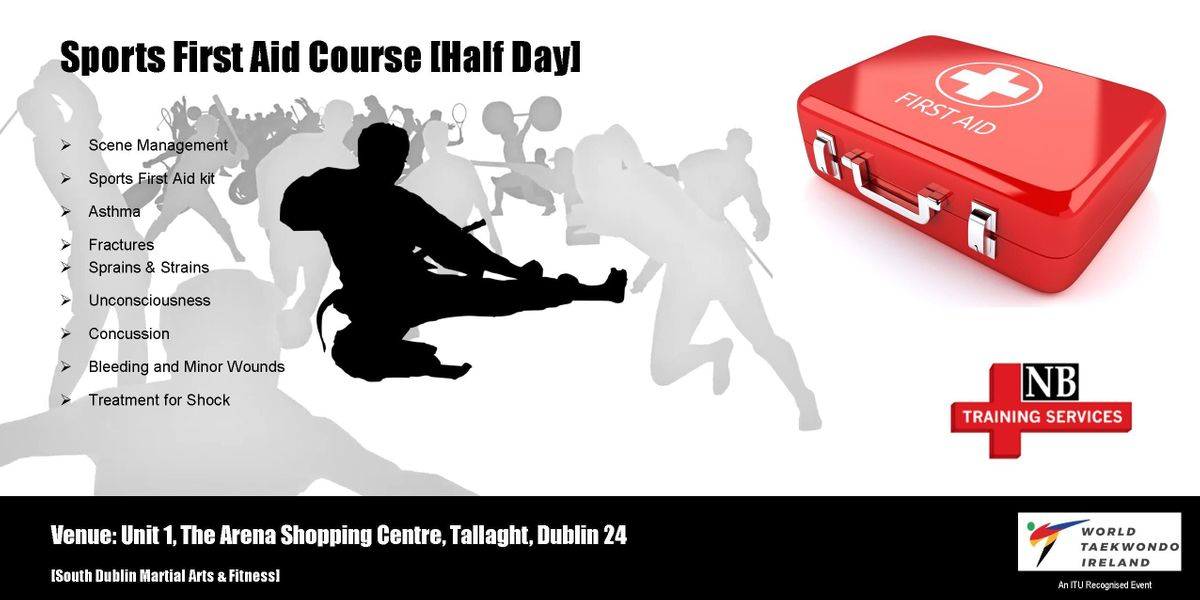 Sports First Aid Course [Half Day]