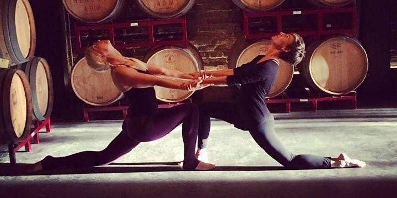 Yoga in The Barrel Room at Skeleton Root  February Edition