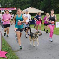 Pink Strides 5K and 1-mile Wellness Walk