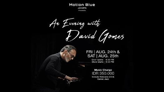 An Evening With DAVID GOMES