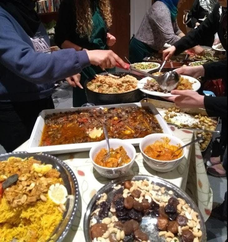 REfUSE Restaurant Night Syrian evening