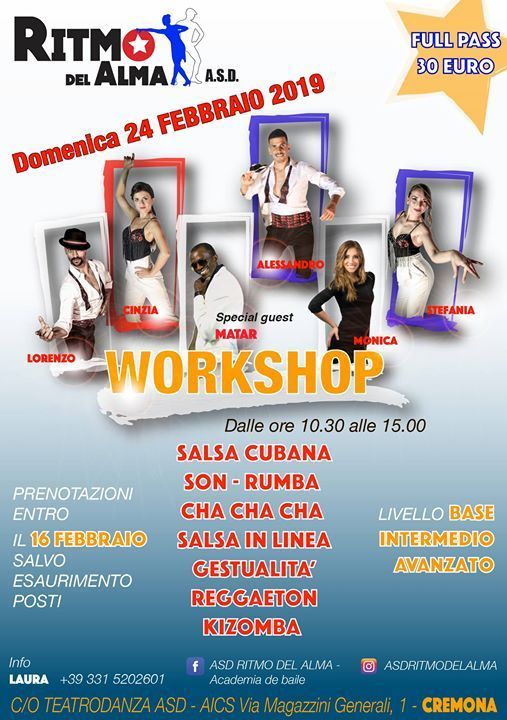 Workshop del 24.02.2019