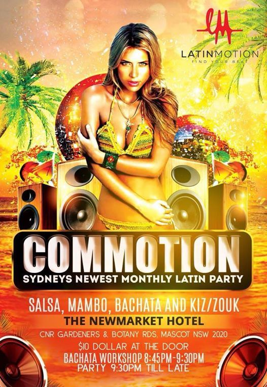 Commotion Sydneys Monthly Latin Night