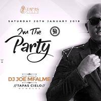 Tapas Cielo first Ciroc Party 2018 with Joe Mfalme and Aj the Dj