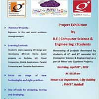 Project Exhibition by B.E ( CSE ) Students