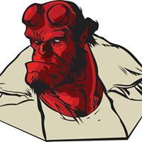 Hellboy Drink &amp Draw