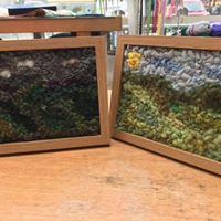 Hand Tufted Landscape workshop