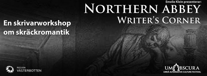 Northern Abbey Writers Corner - skrivarworkshop