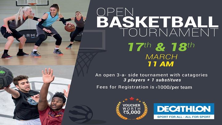 Open Basket Ball Tournament