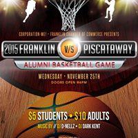 FRANKLIN VS PISCATAWAY ALUMNI BASKETBALL GAME