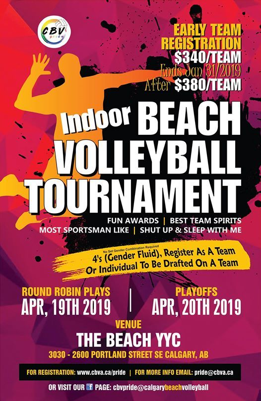 Easter Beach Volleyball Tournament