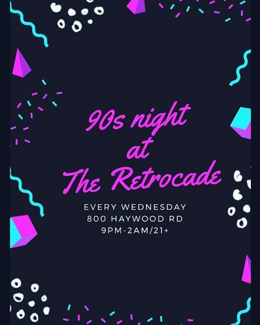 90s night at The Retrocade