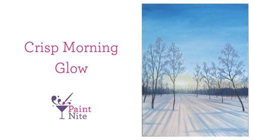 Paint Nite Halifax - Crisp Morning Glow