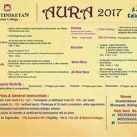 Aura 2017 - a Junior College Fest