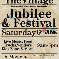 1st Annual Village Jubilee &amp Festival