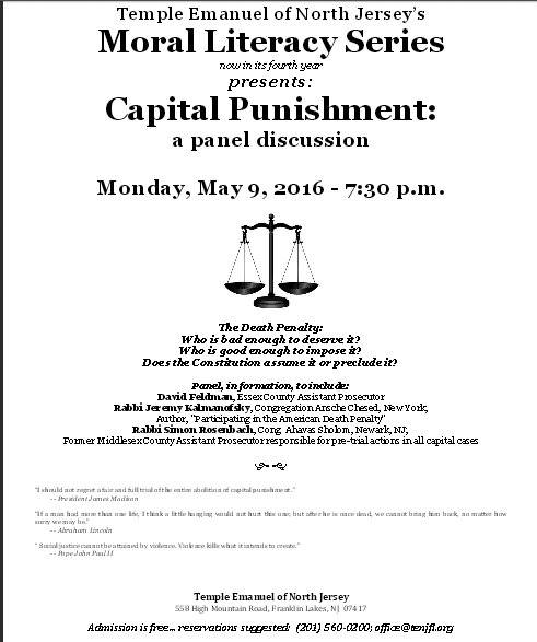 capital punishment morally required Capital punishment debate in the united states existed as early as the colonial period as of 2017 it remains a legal penalty in 31 states, the federal government.