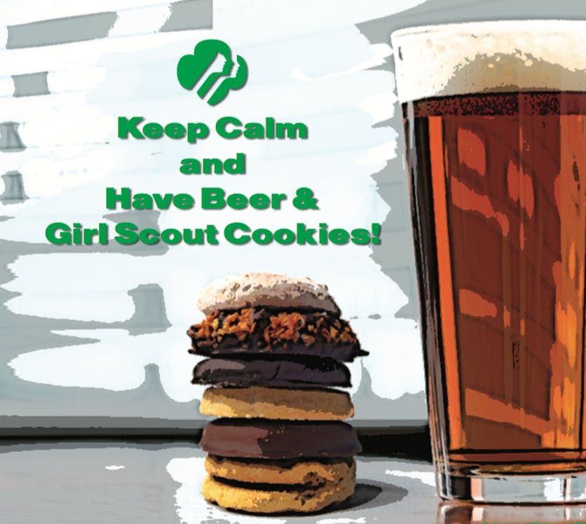 Beer and Cookies at Iron Hill Brewery