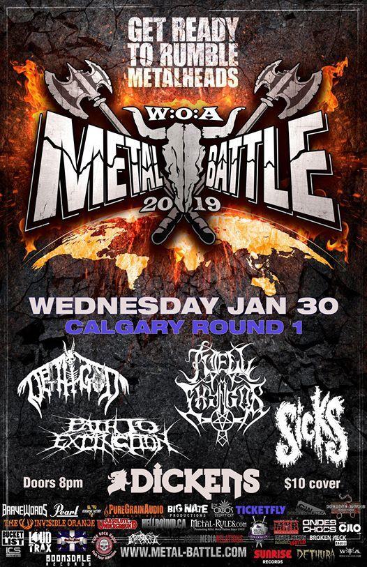 Wacken Metal Battle Calgary Round 1