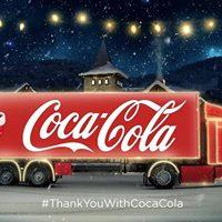 Coca-Cola Christmas Truck Tour 2017  Dinant