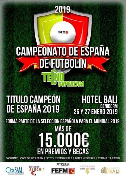Campeonato de Espaa de Futbolin