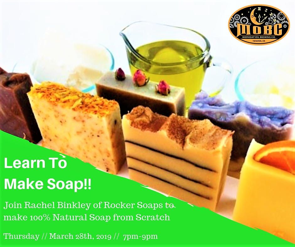Beer Soap Making Class  - Fun Night Out