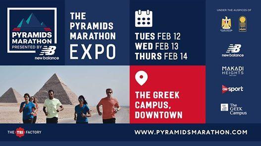The Pyramids Marathon Expo - The GrEEk Campus