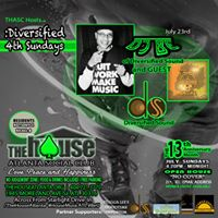 Diversified 4th SundaysOPEN HOUSE(no cover)