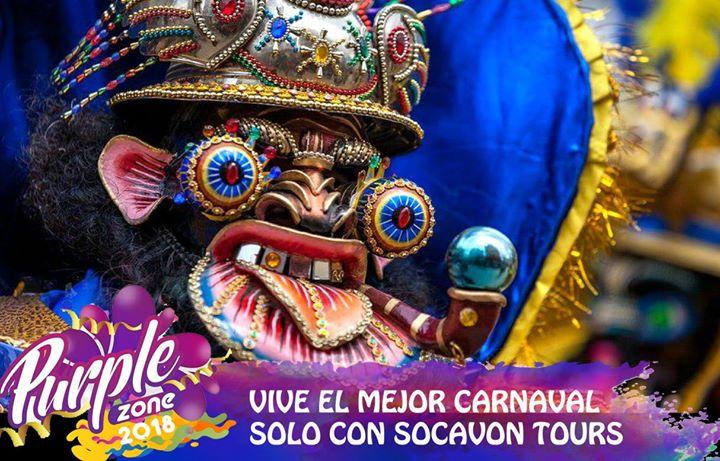 Graderias Carnaval De Oruro Purple Zone 2018