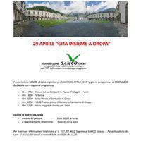 SAMCO - Gita ad Oropa 29 Aprile