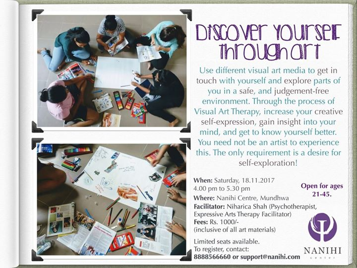 Discover yourself through art at nanihi centre pune discover yourself through art solutioingenieria Image collections