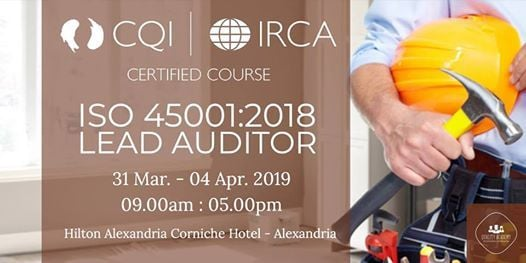 ISO 450012018 Lead Auditor - IRCA Certified