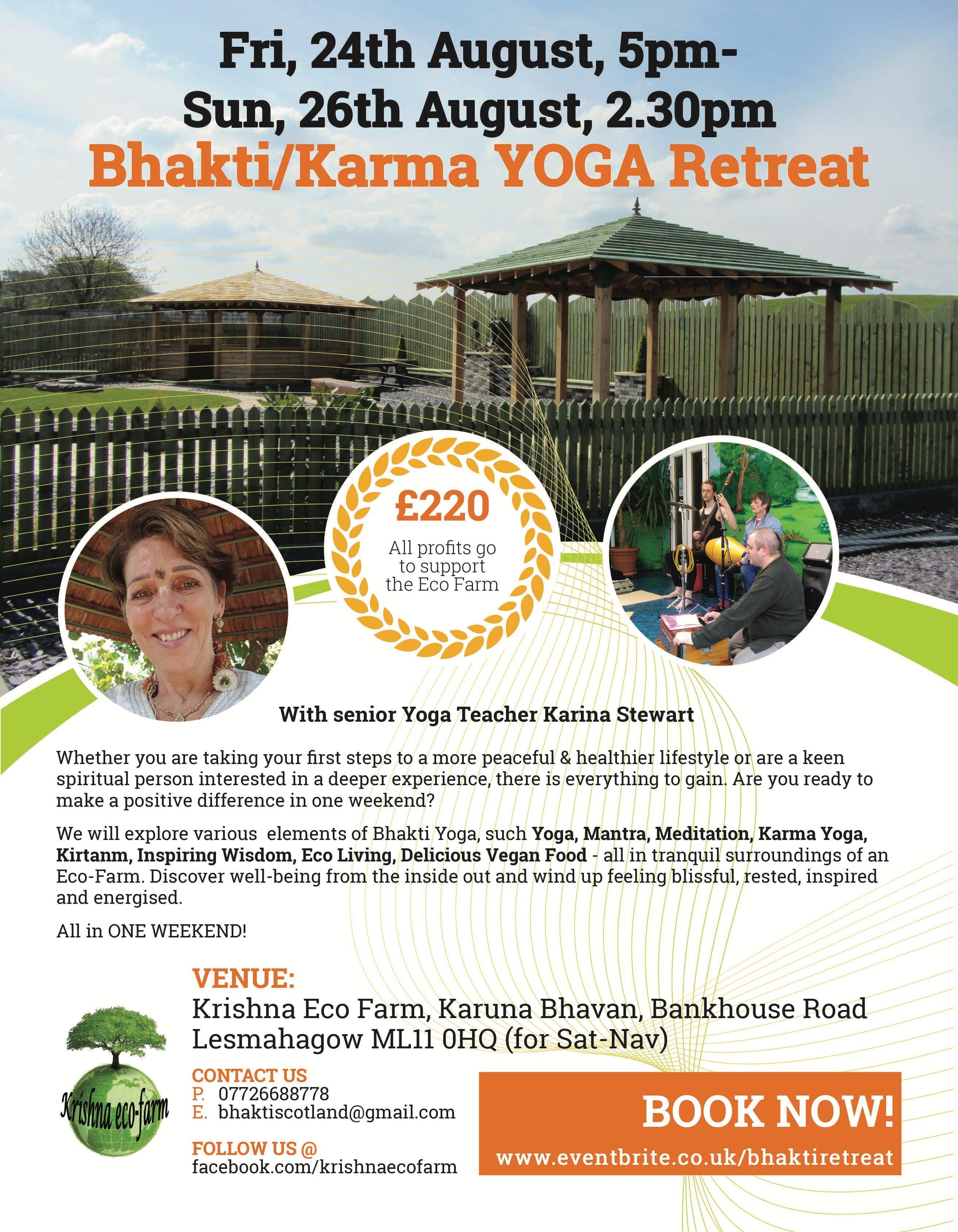 Bhakti Karma Yoga Retreat