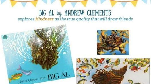 Big Al by Andrew Clements by mummy Wendy
