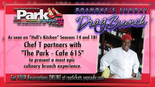 August Sunday Drag Brunch With Chef T From Hells Kitchen At