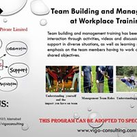 Team Building and Management at Workplace Training 2017