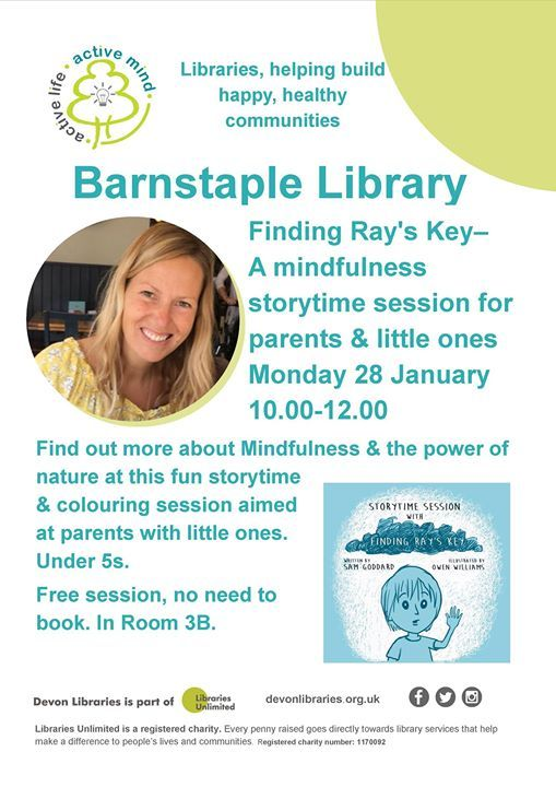 Finding Rays Key-A Mindfulness Storytime Session