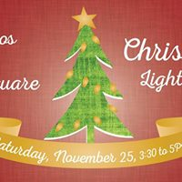 Olneyville Square Christmas Tree Lighting Ceremony