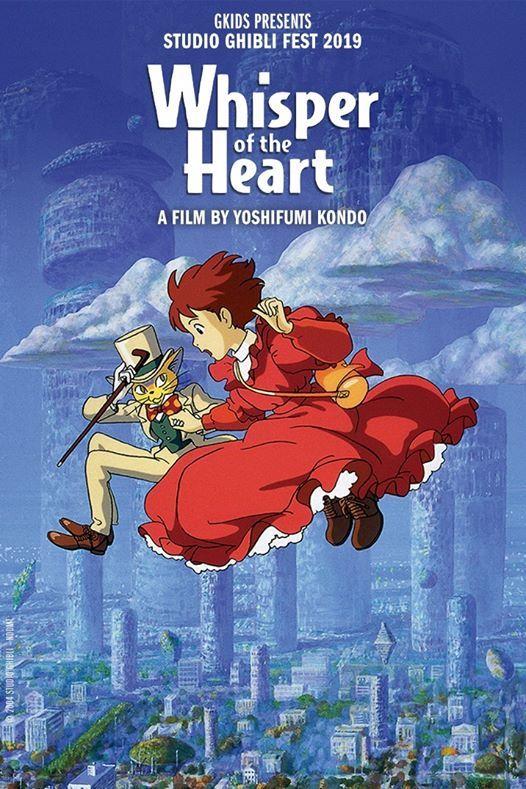 Whisper of the Heart ( subtitle) at Marcus Wehrenberg Cedar