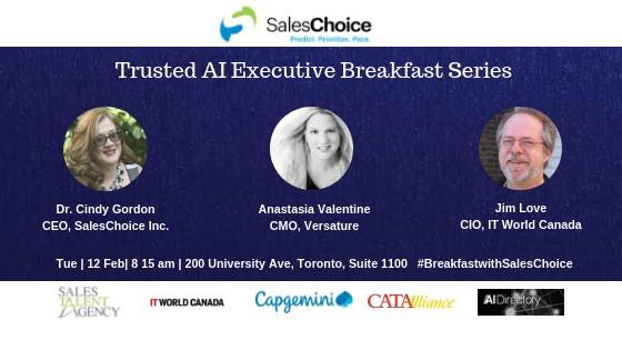 Trusted AI Executive Breakfast Series - How To Create The Perfect Sales And Marketing Cloud Stack Leveraging AI
