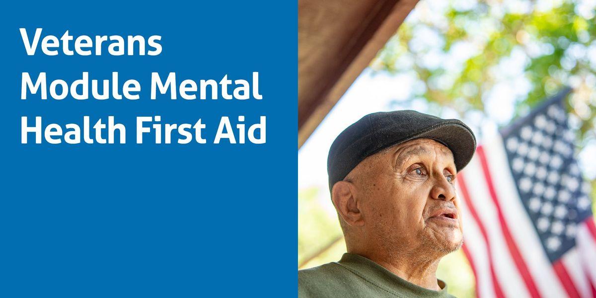 Veterans Module Mental Health First Aid Training 37
