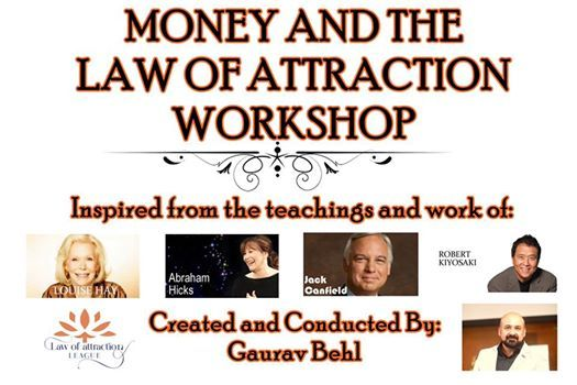 Money and the Law of Attraction International 2 Day Workshop
