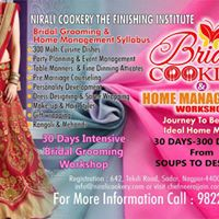 BRIDAL GROOMING AND HOME MANAGEMENT ONE MONTH  WORKSHOP