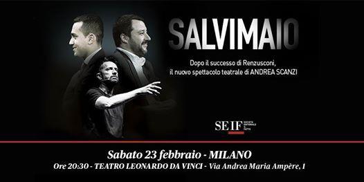 Salvimaio a Milano  di e con Andrea Scanzi