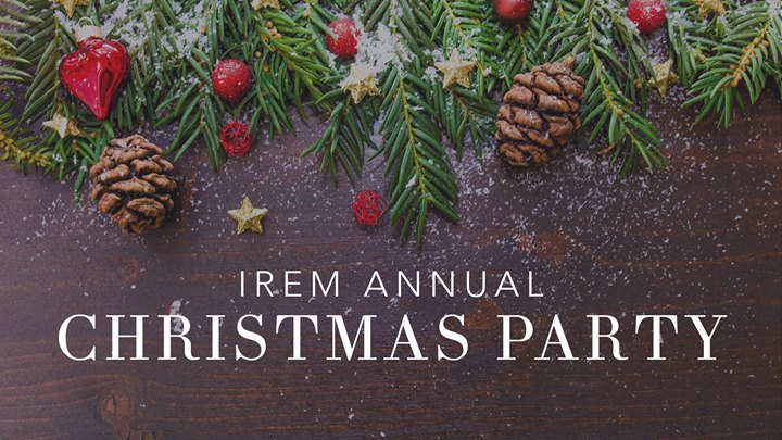 IREM Christmas Party