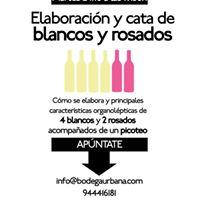 Elaboracin de vinos blancos y rosados